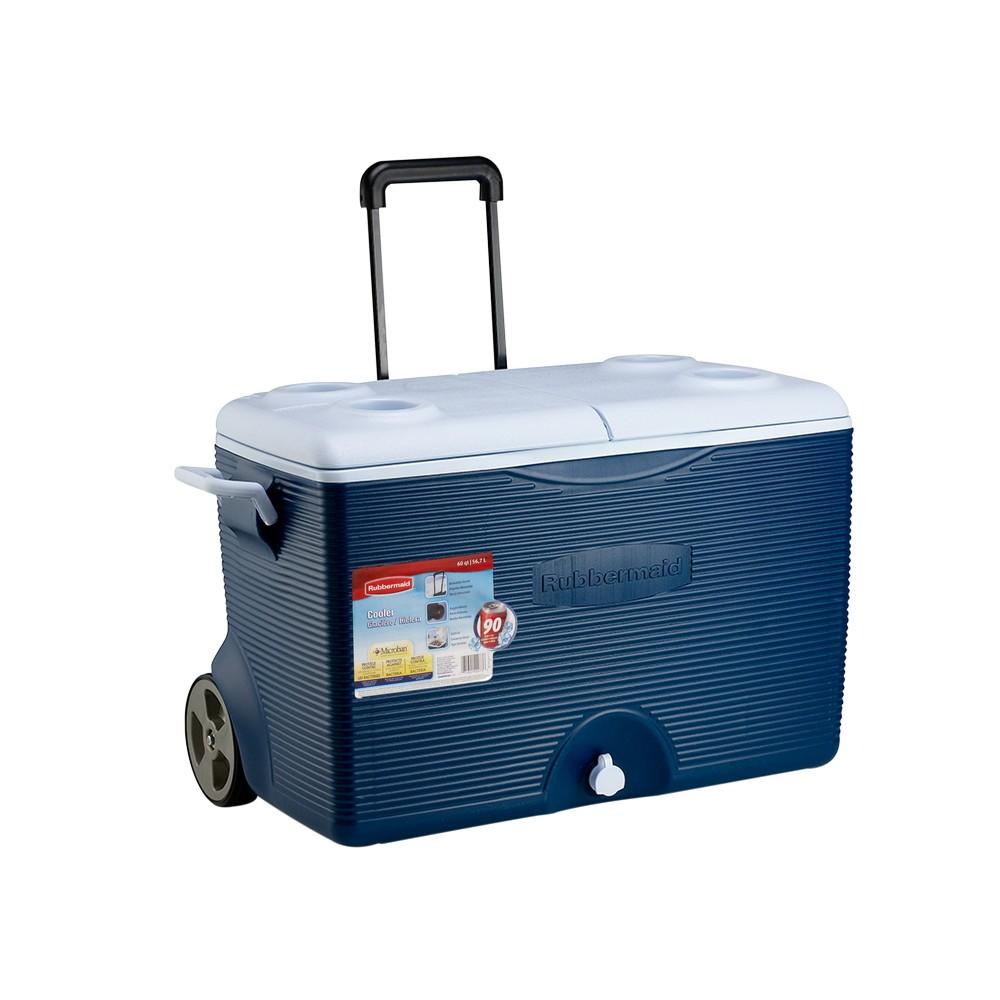 Hielera wheeled ice chest 60qt