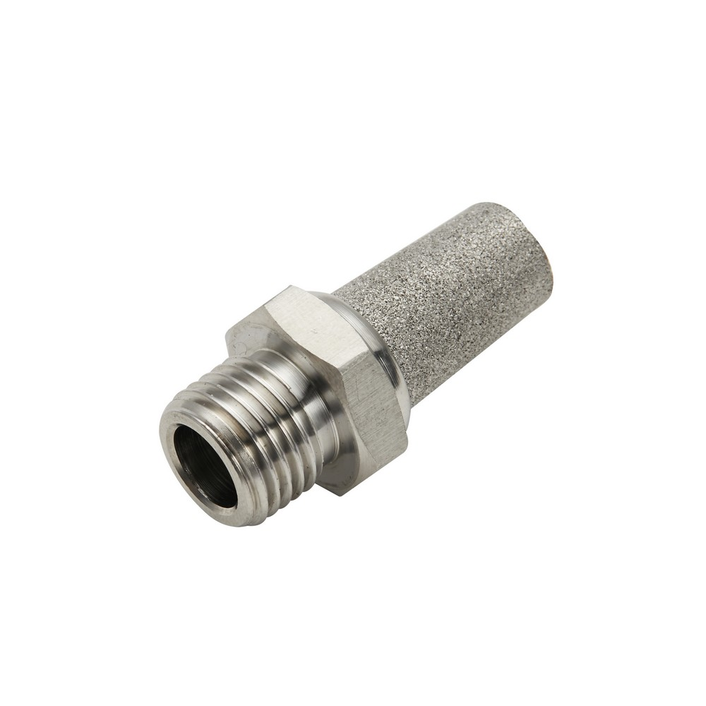 Silenciador neumático latón 1/8 pulg npt
