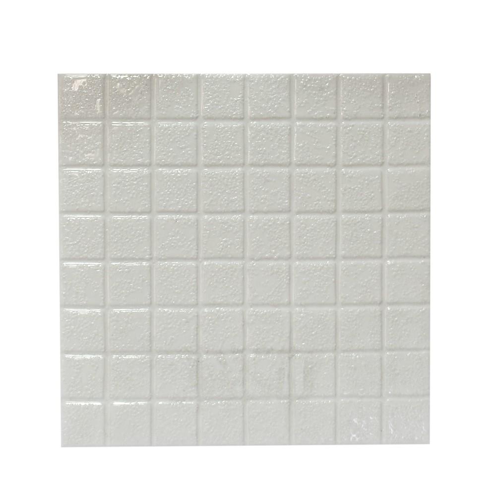 Cer mica de piso de 20x20 cent metros mosaico blanco for Mosaico ceramica