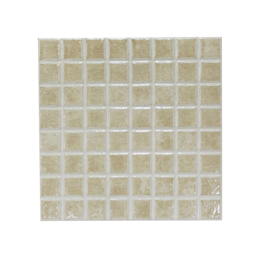 Cer mica de piso de 20x20 cent metros mosaico beige - Azulejos 20x20 colores ...
