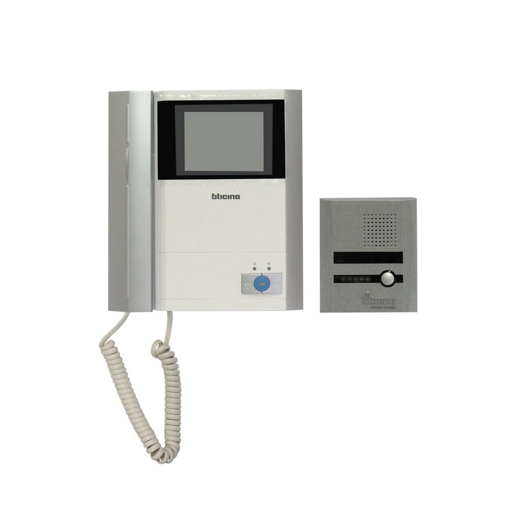 Intercomunicador video b/n con auricular bticino 316211