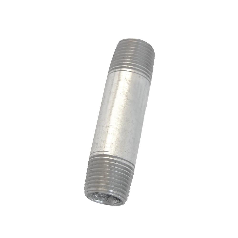 Niple galvanizado de 3/8 x2.1/2 pulg