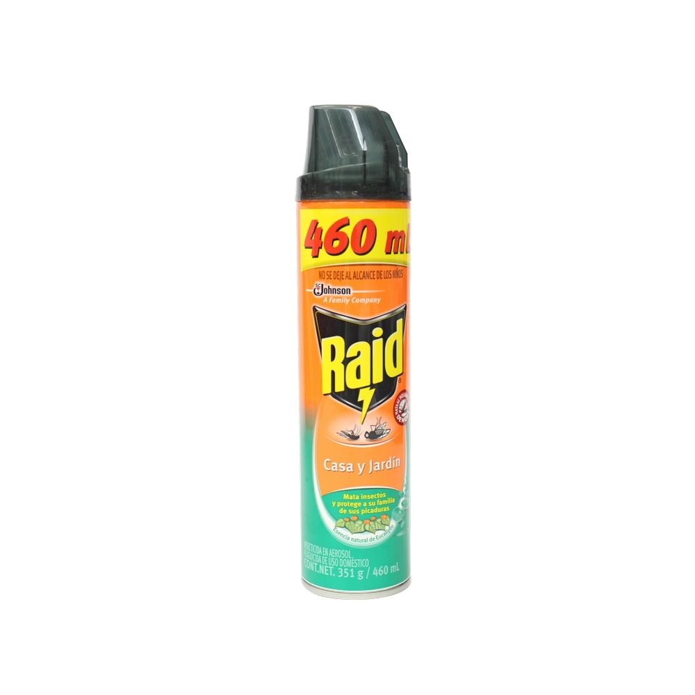 Raid casa y jardin eucalipto aerosol 400ml insecticidas for Casa jardin insecticida