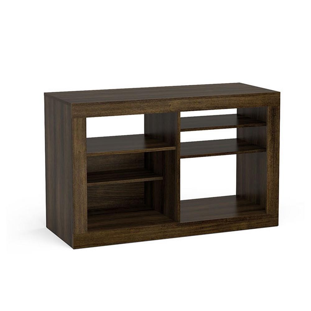 Mueble alvorada para tv de 46 pulgadas, color tabaco.