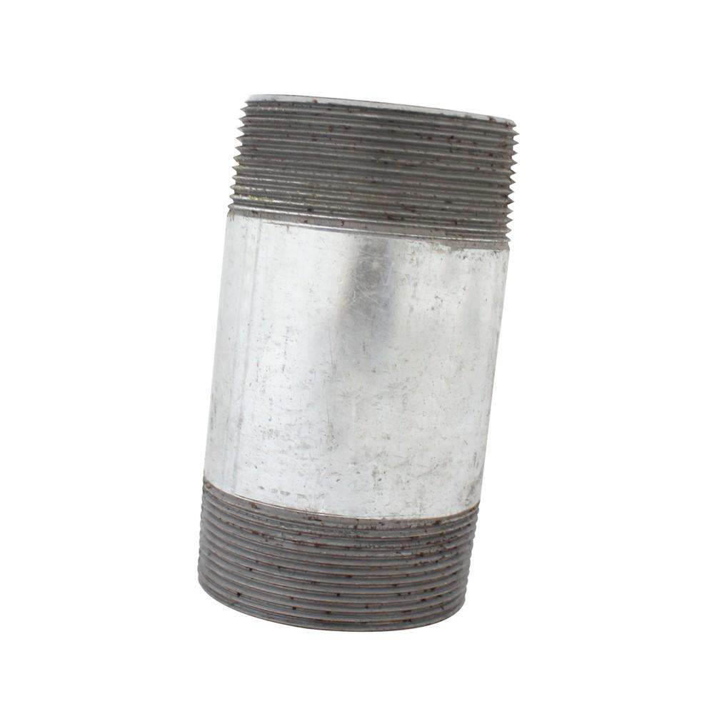 Niple galvanizado de 2 x 4 pulg