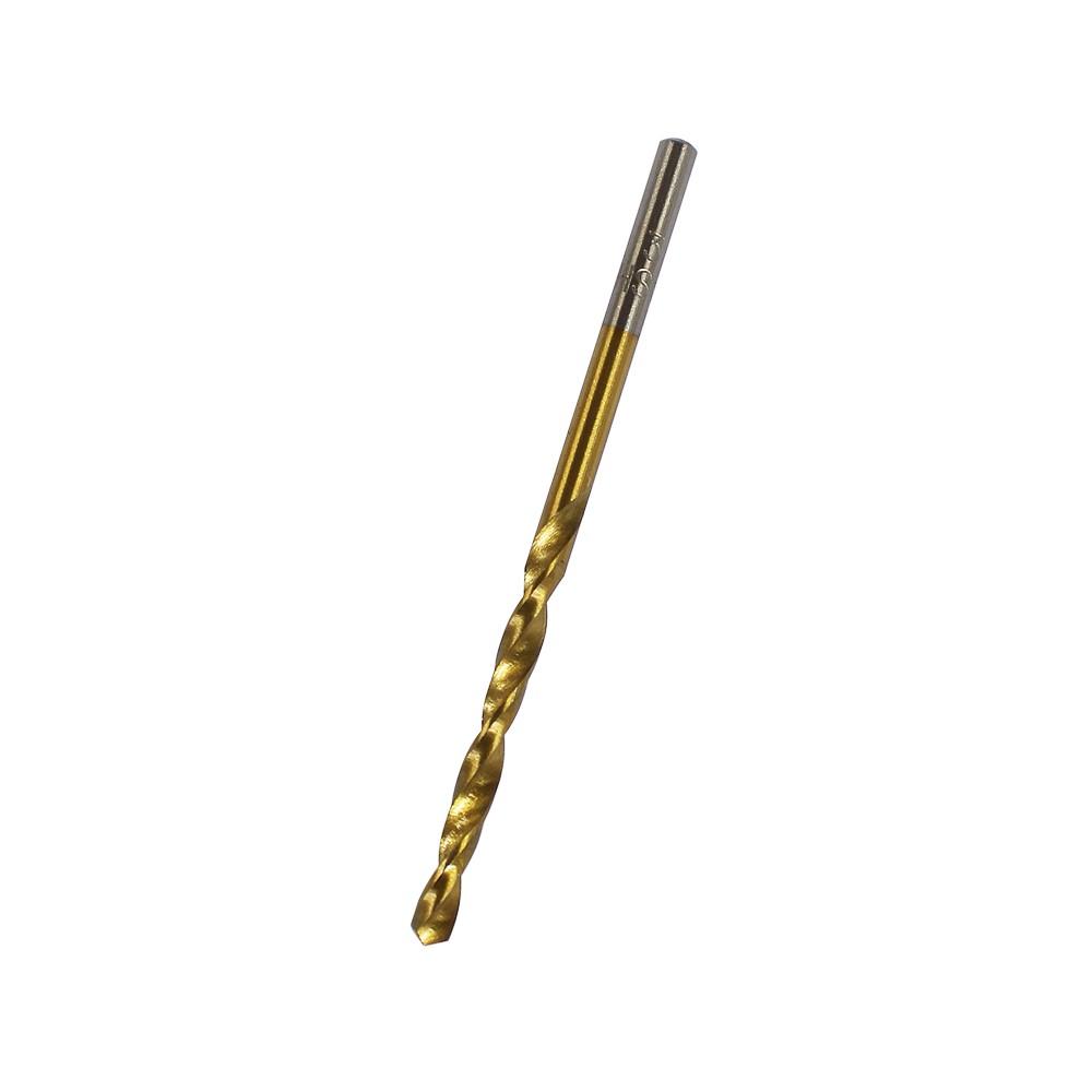 Broca de titanio 3 mm para metal