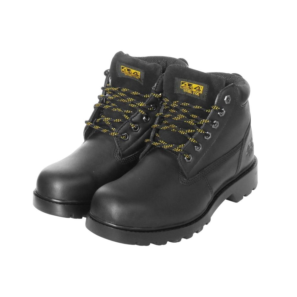 Zapato industrial 4x4 talla 37 con cubo de acero