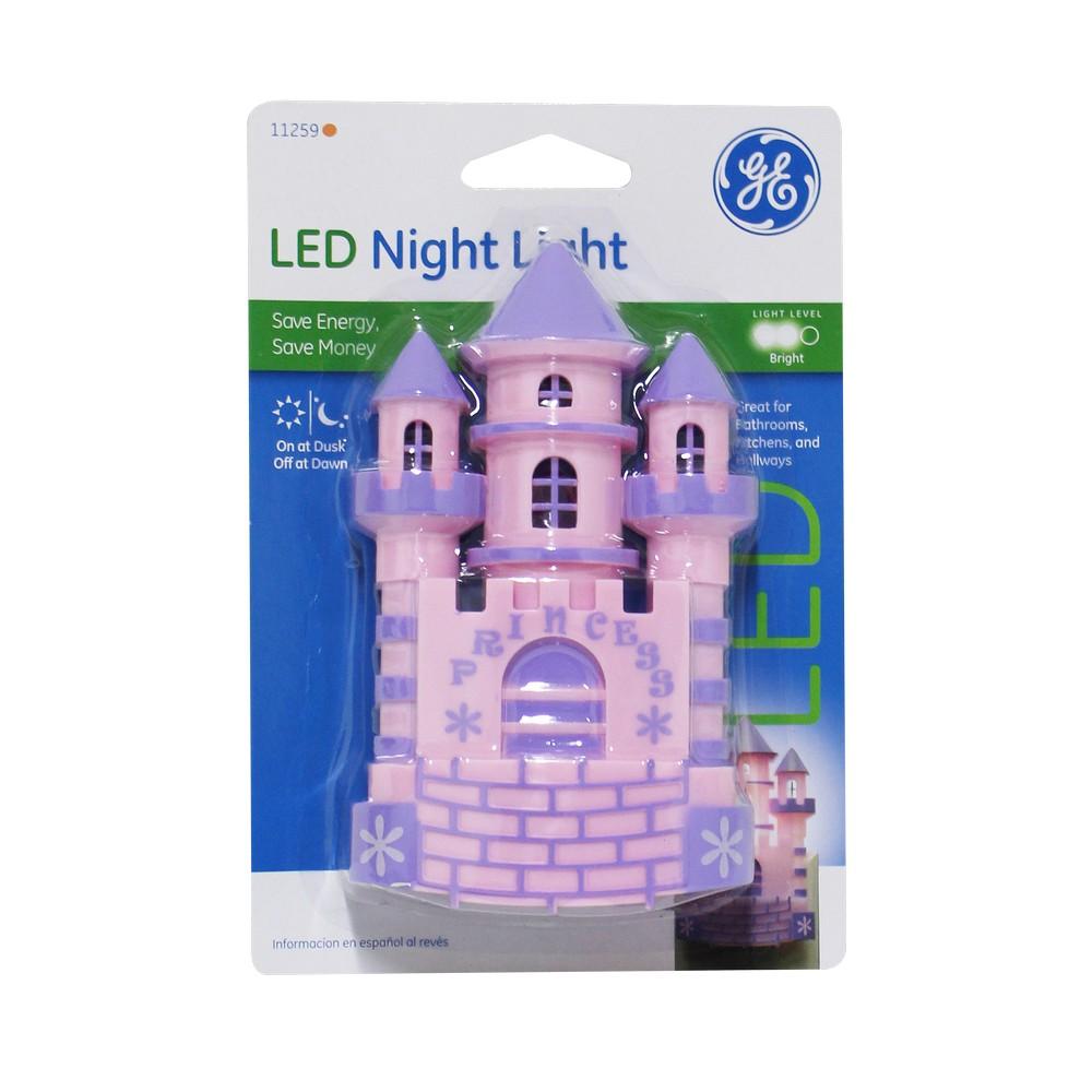 Lampara de noche led castillo l mparas de noche general electric - General electric iluminacion ...