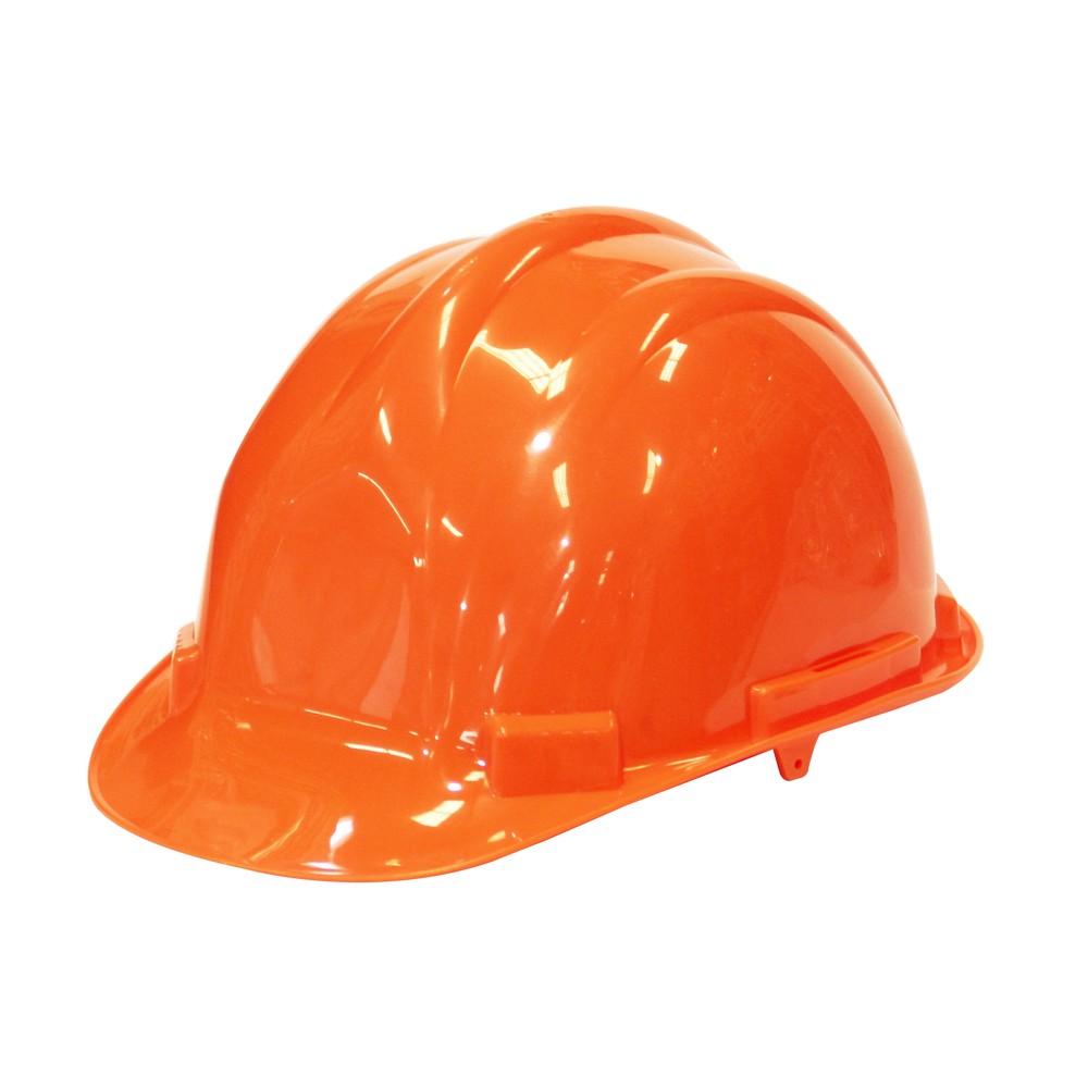 Casco de seguridad anaranjado