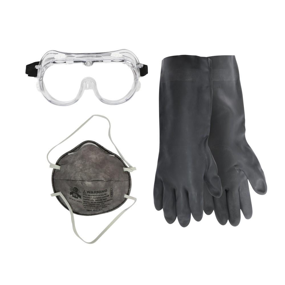 Kit de mascarilla, lente y guante