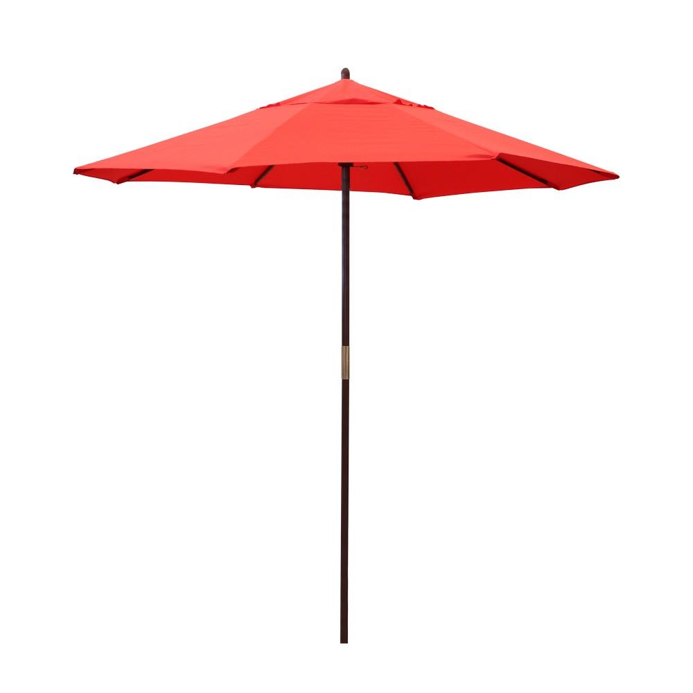 Sombrilla roja - Sombrillas para playa | on