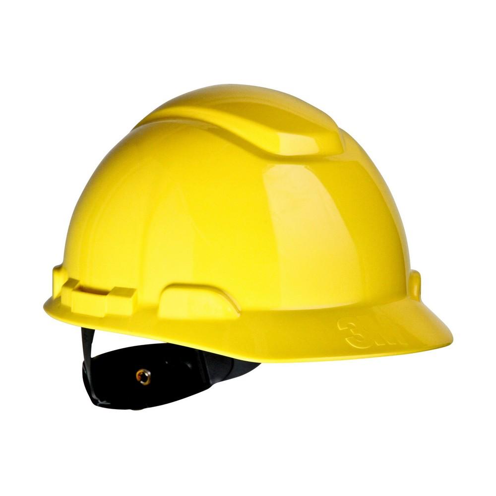 Casco de seguridad amarillo