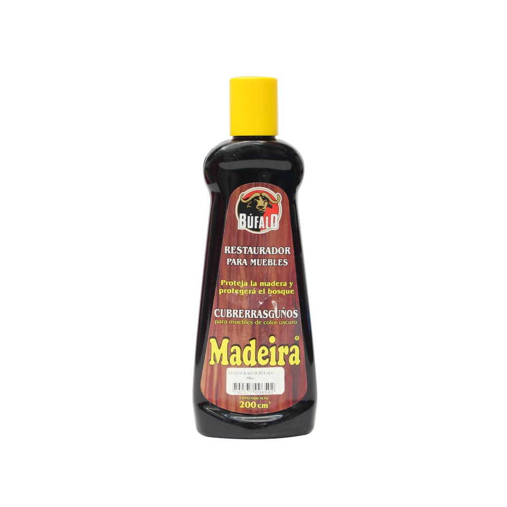 Limpiador en aceite cubre rasguños para madera oscura, 200 mililitros