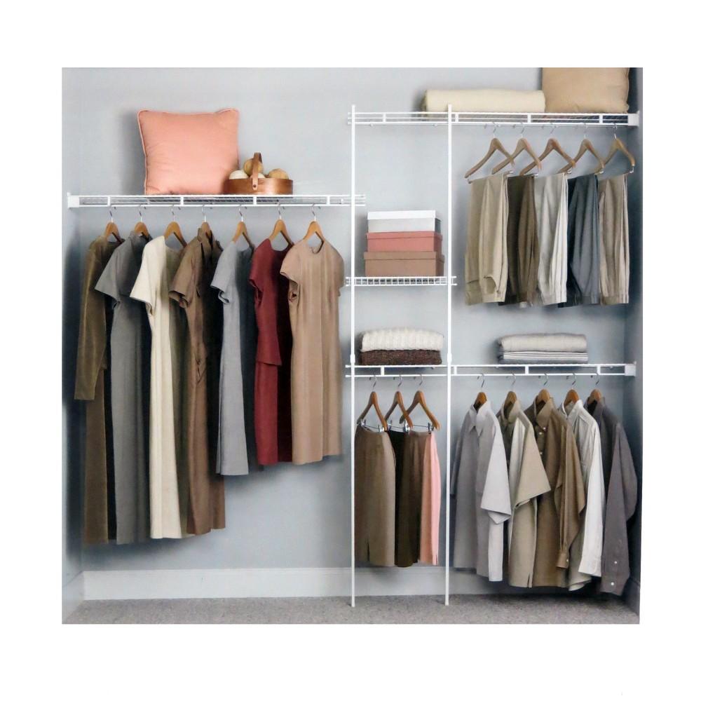 Organizador para closet ajustable de 5 a 8 pies