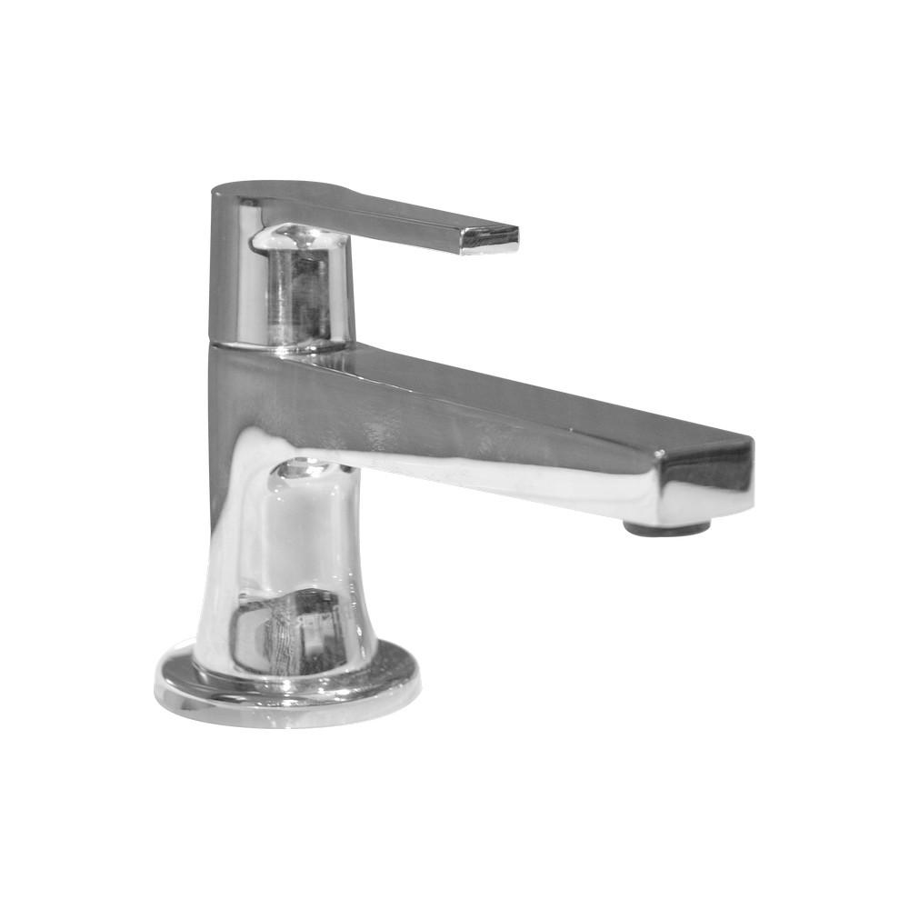Llave para lavamanos acabado en cromo pulido llaves for Llave lavamanos sodimac