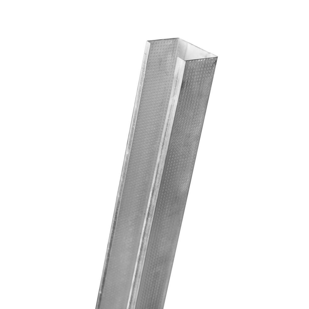 Poste de 2.182x1.1/4 pulgadas y 10 pies de largo calibre 24
