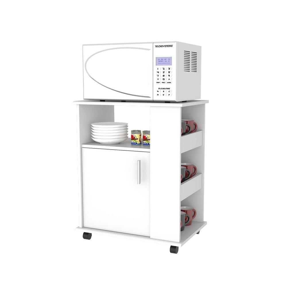 Mueble para microondas blanco kit