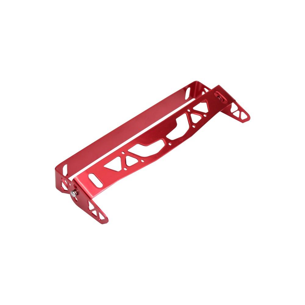 Soporte para placa universal ajustable rojo ac-890r - Marcos para ...