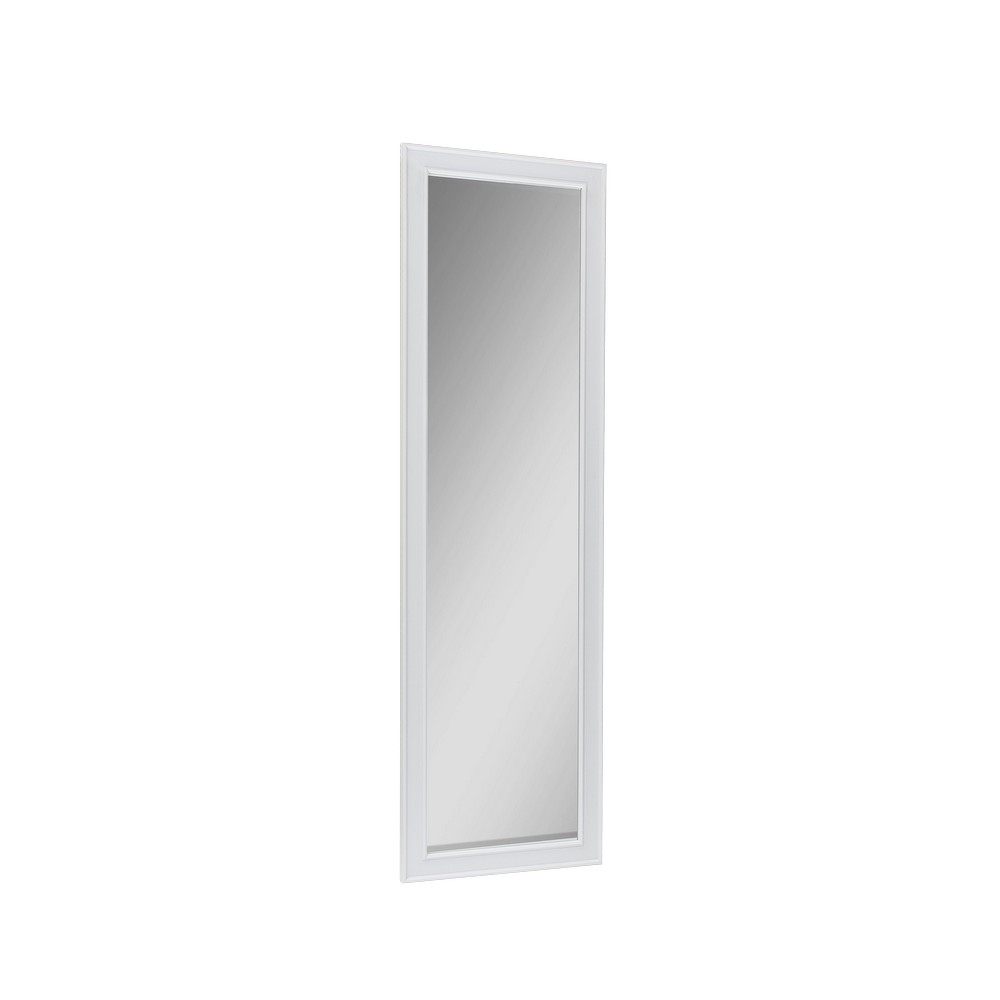 Espejo decorativo para puerta blanco