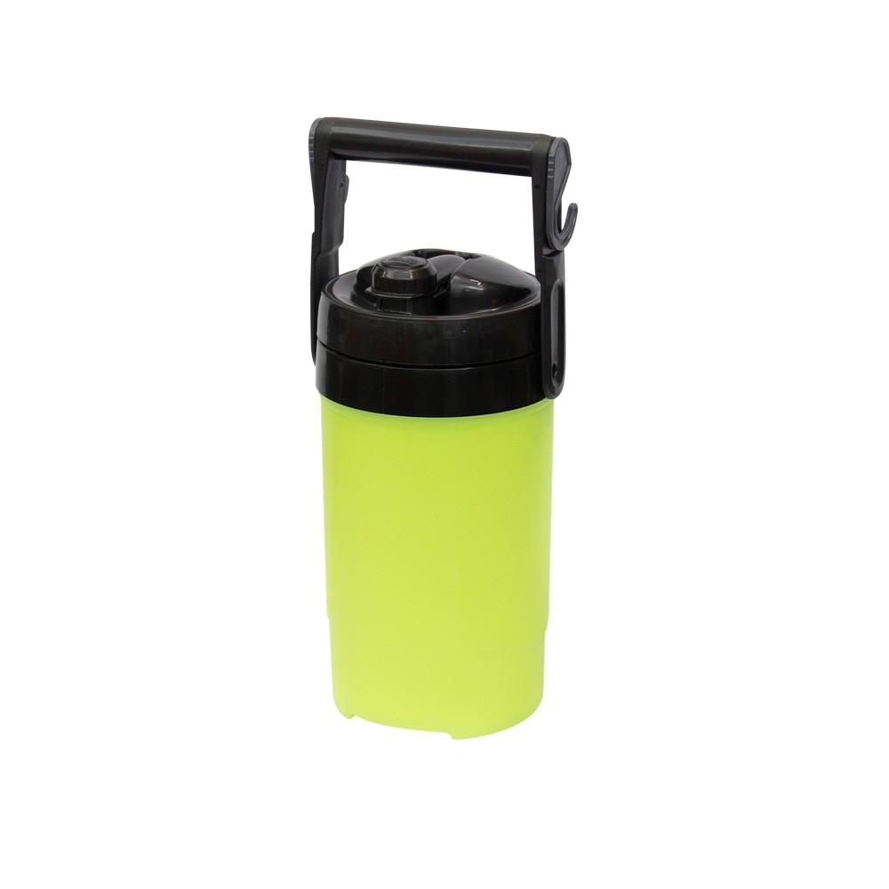 Termo de 0.5 galones, color amarillo.