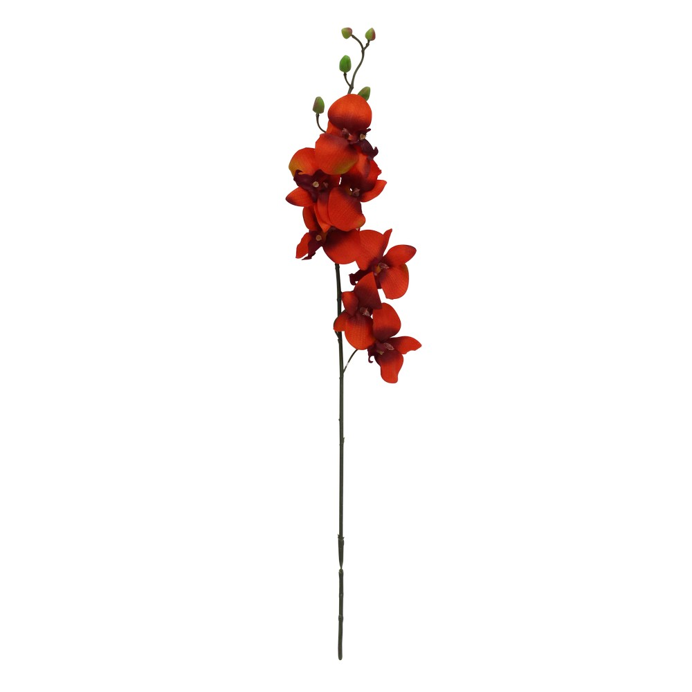 Flor artificial orquidea sfs01-220or/rd