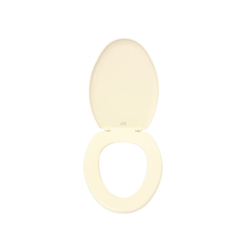 Asiento elongado para inodoro blanco hueso