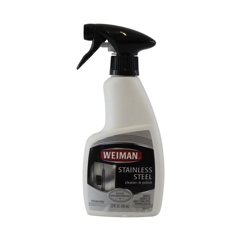 Limpiador para acero inoxidable weiman 12 oz