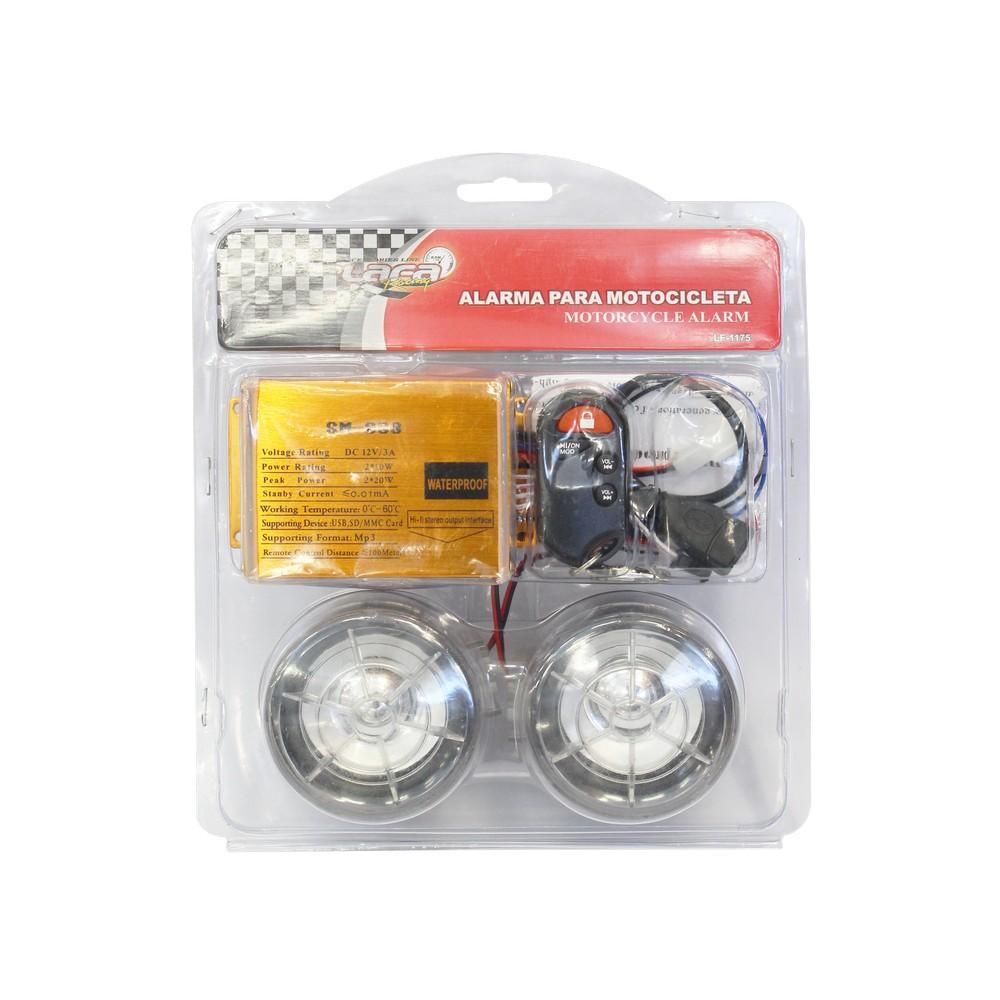 Alarma para moto con mp3 lf-1175