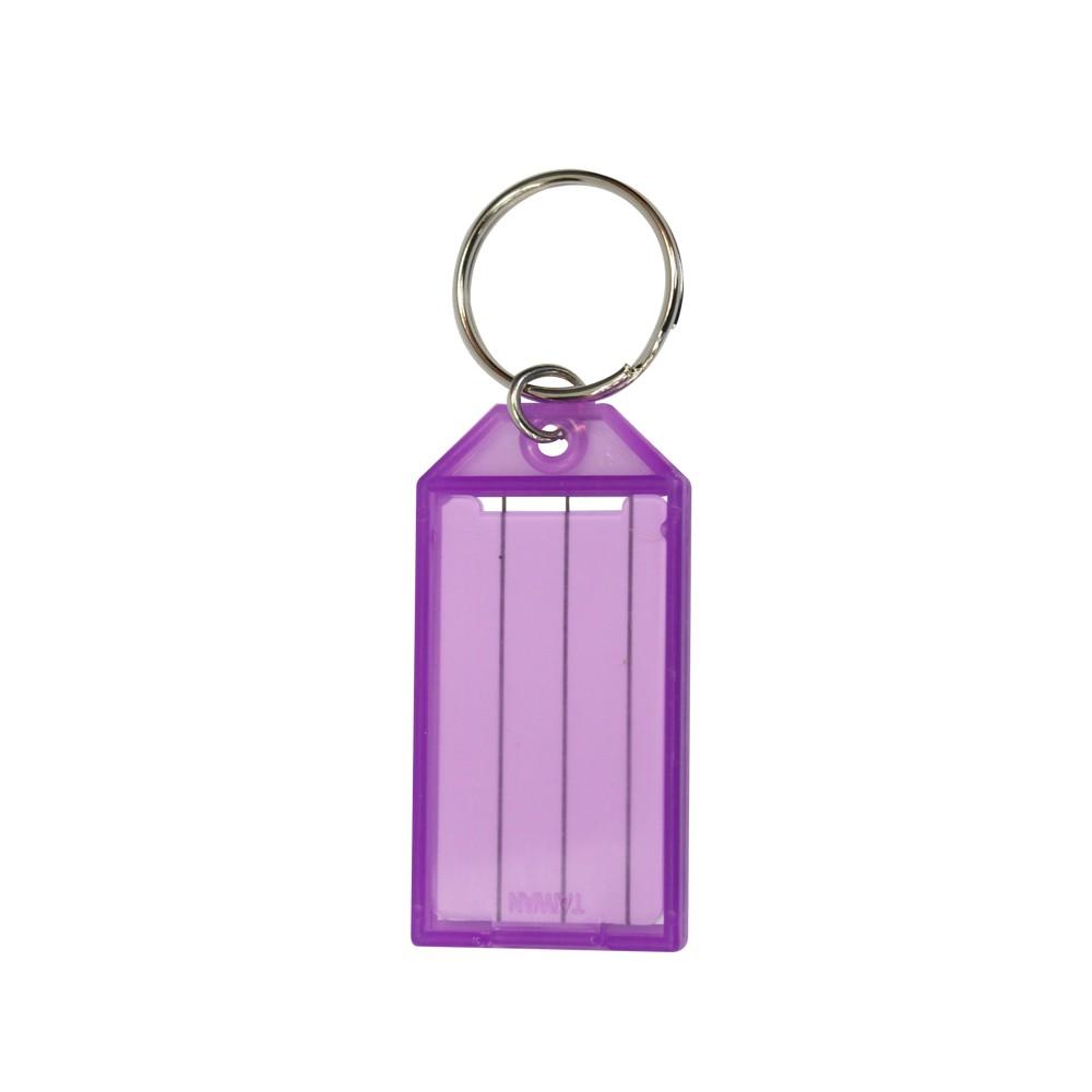 Llavero para llave con etiqueta