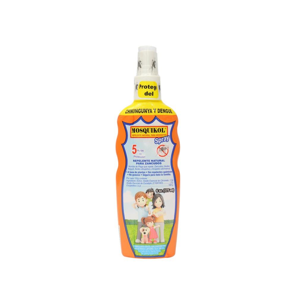 Repelente de insectos para niños en spray 6 oz