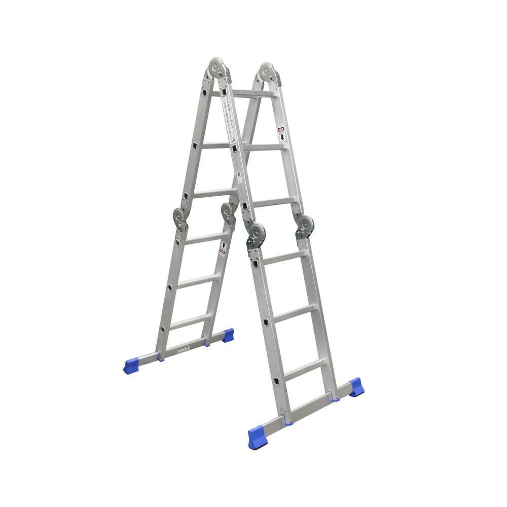 Escalera aluminio multiuso
