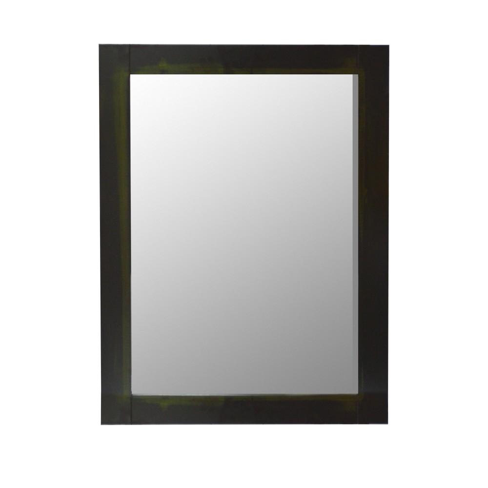 Espejo con marco negro ms600 espejos - Espejo marco negro ...