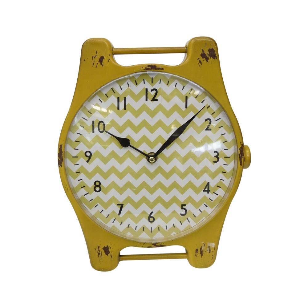 Reloj decorativo metálico - Marcos para foto  