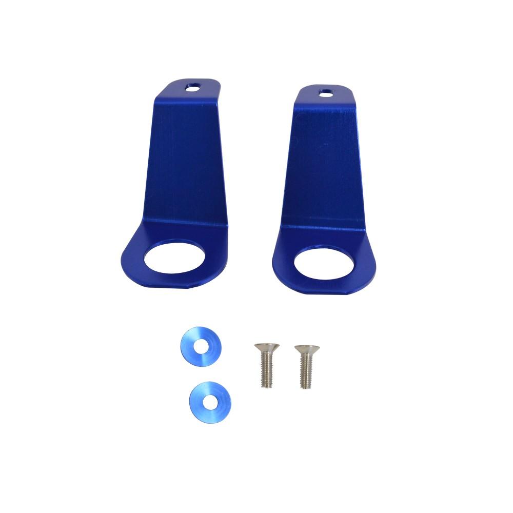 Gancho azul para radiador set de 2 piezas decorativos for Gancho adhesivo pared