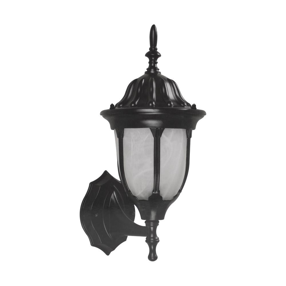 L mpara para exterior e27 tipo farol color negro for Lamparas para iluminacion exterior