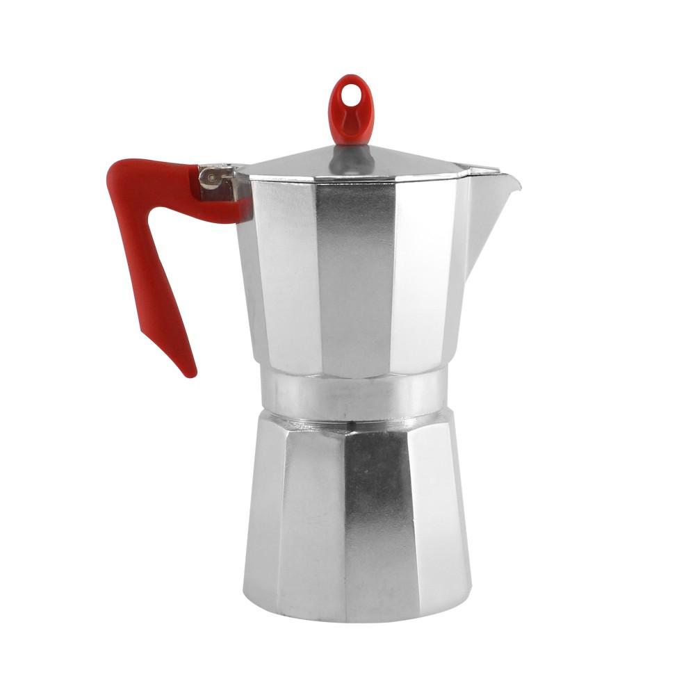 Cafetera italiana de aluminio 9 tazas