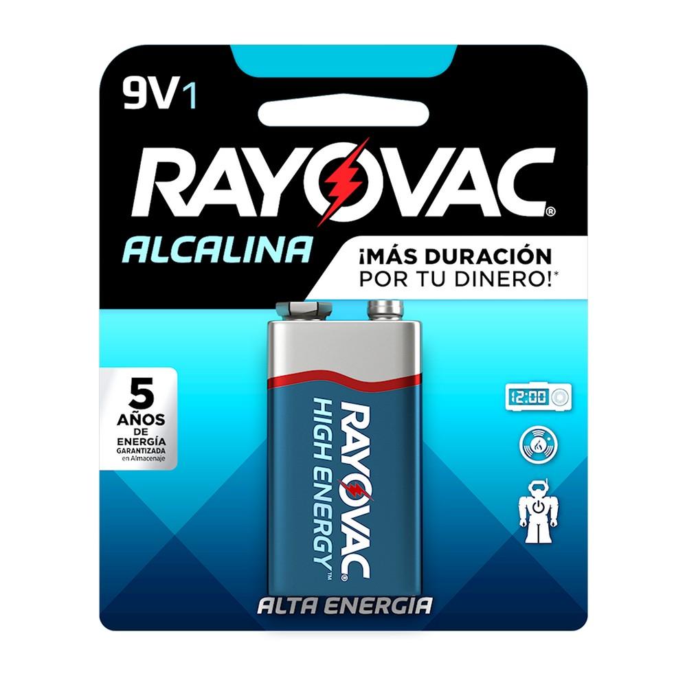 Batería alcalina cuadrada 9v