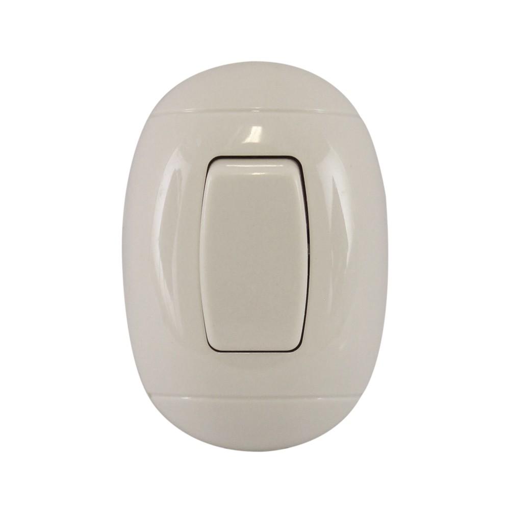 interruptor superficial sencillo de 10 amperios