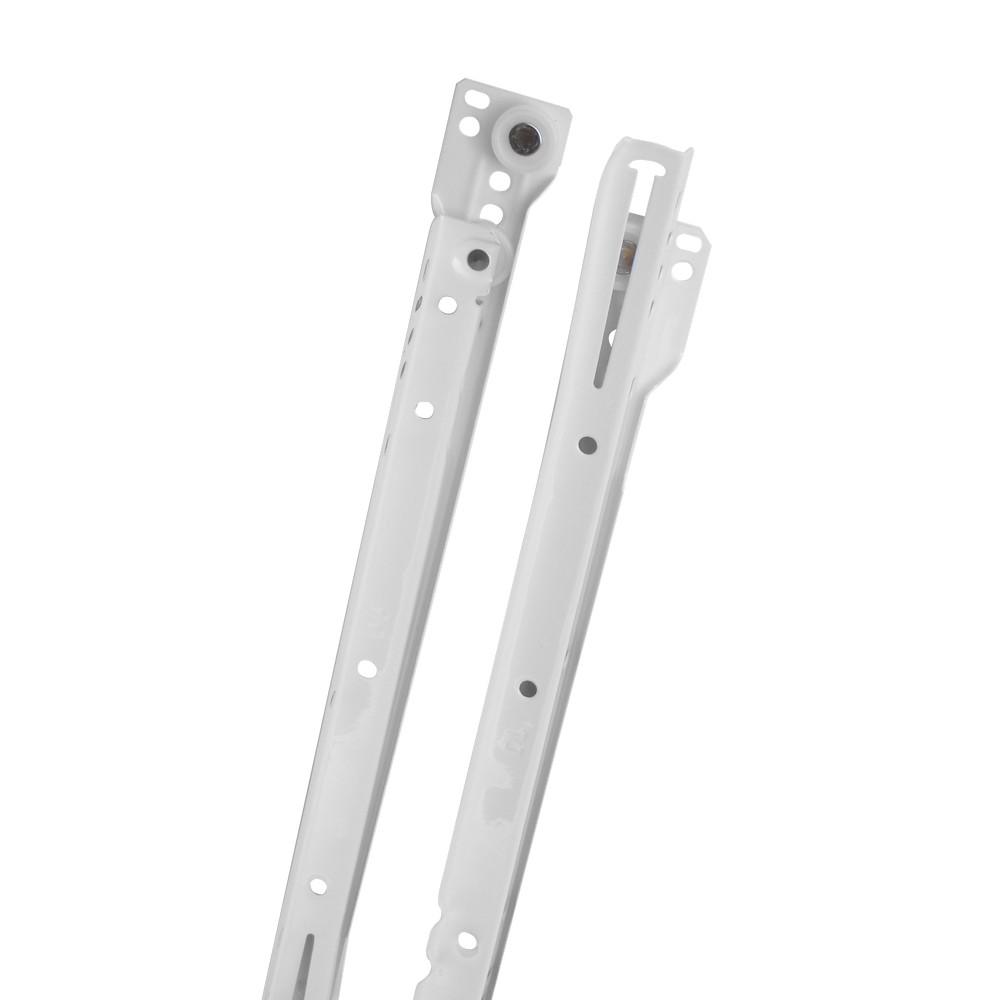 Riel para gaveta blanco 550 mm