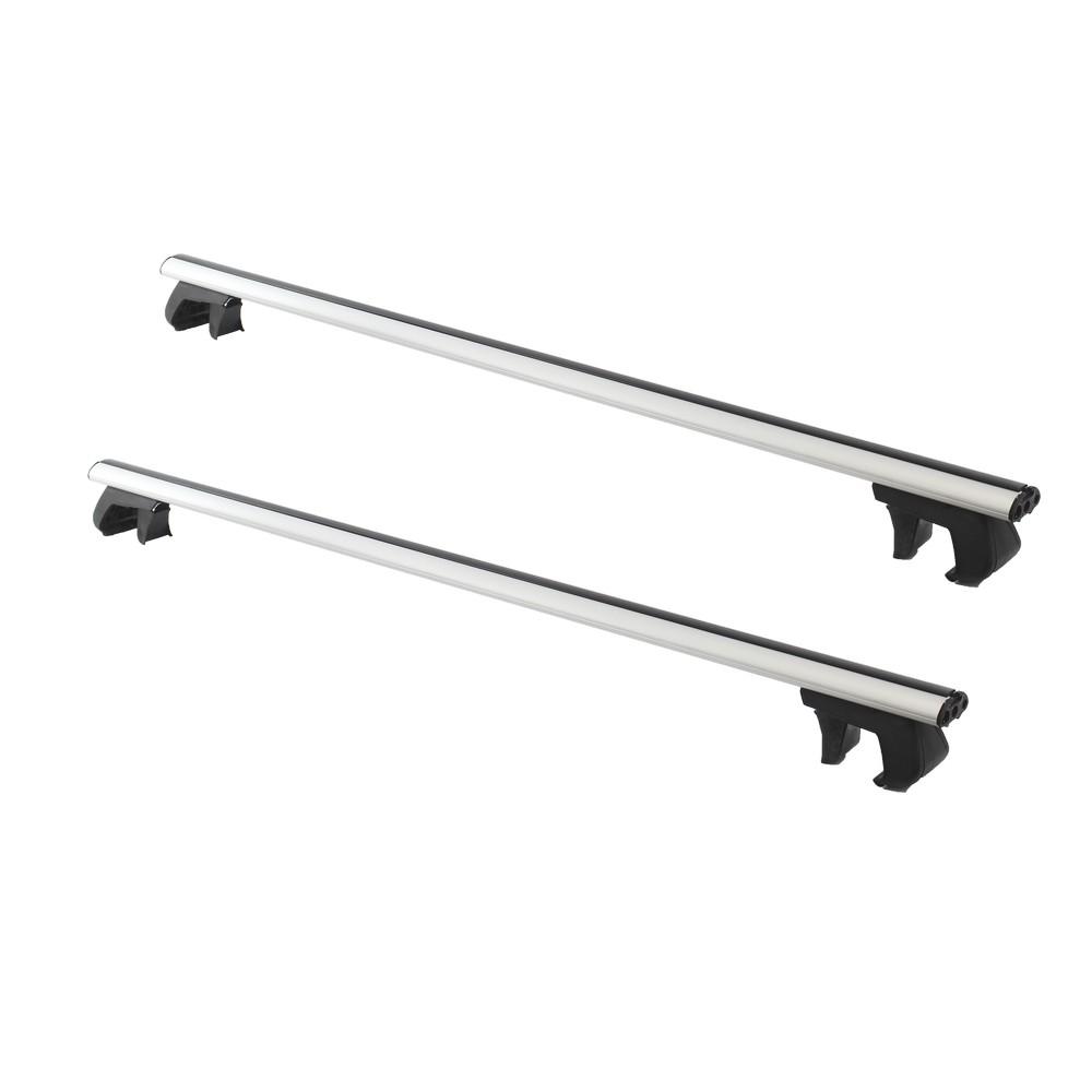 Barras de techo para carro 48 aluminio s 2 conos y - Barras de aluminio huecas ...