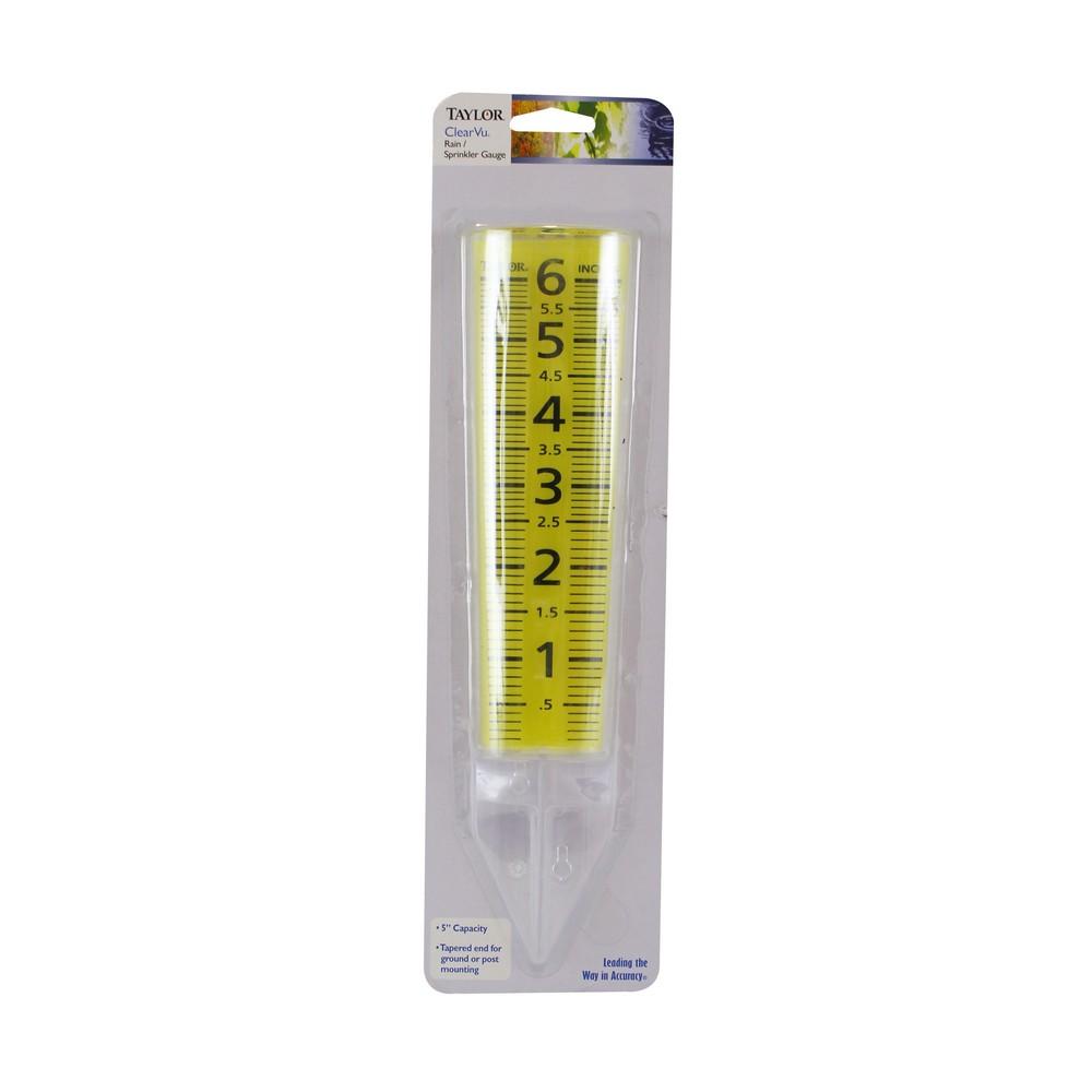 Medidor de policarbonato para lluvia 5 pulg
