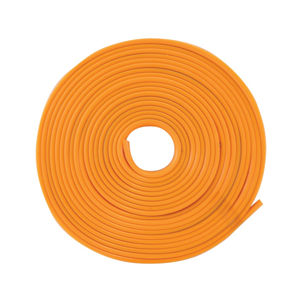 Moldura decorativa para rin silicon anaranjado ac993006