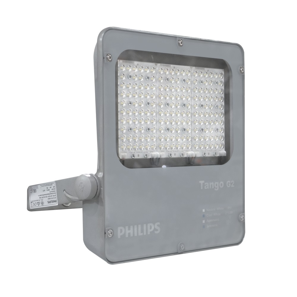 L mpara led de exterior 100w 4000k l mparas led philips for Lamparas led para exteriores
