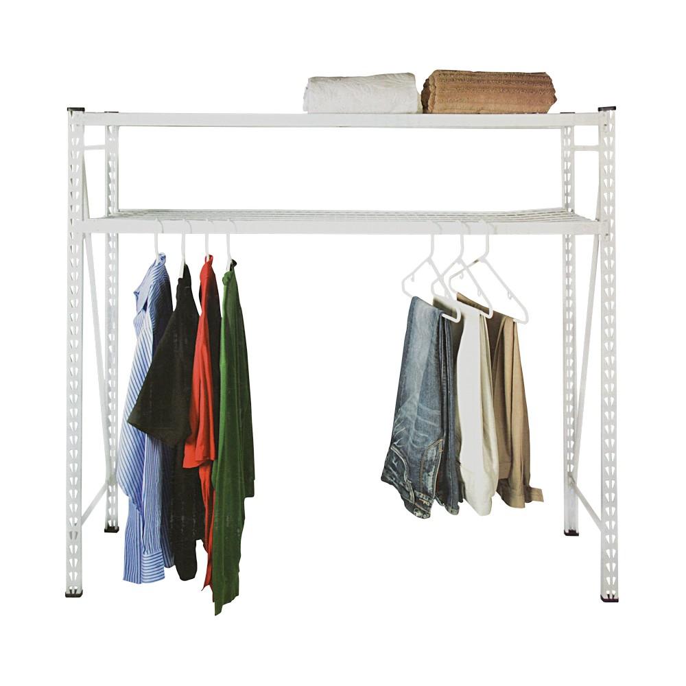 Estante para lavandería de 2 niveles 350 lbs
