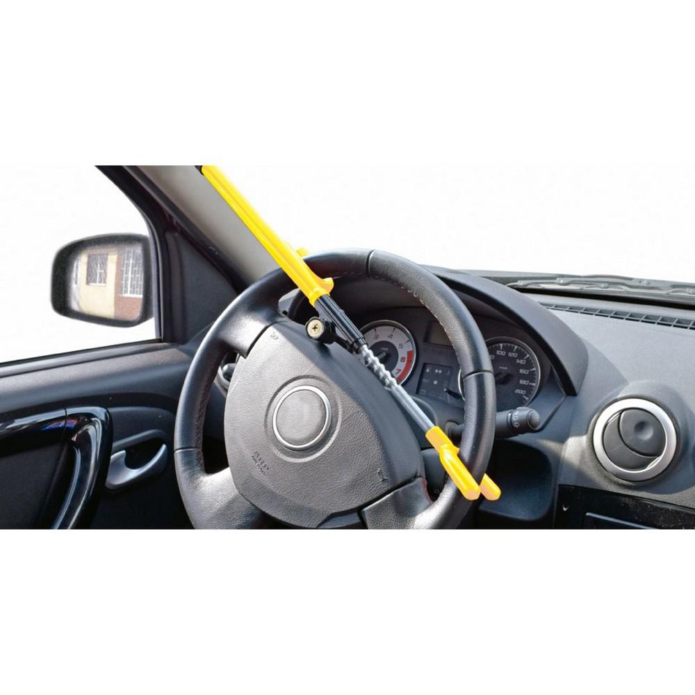Bastón de seguridad para timón de carro