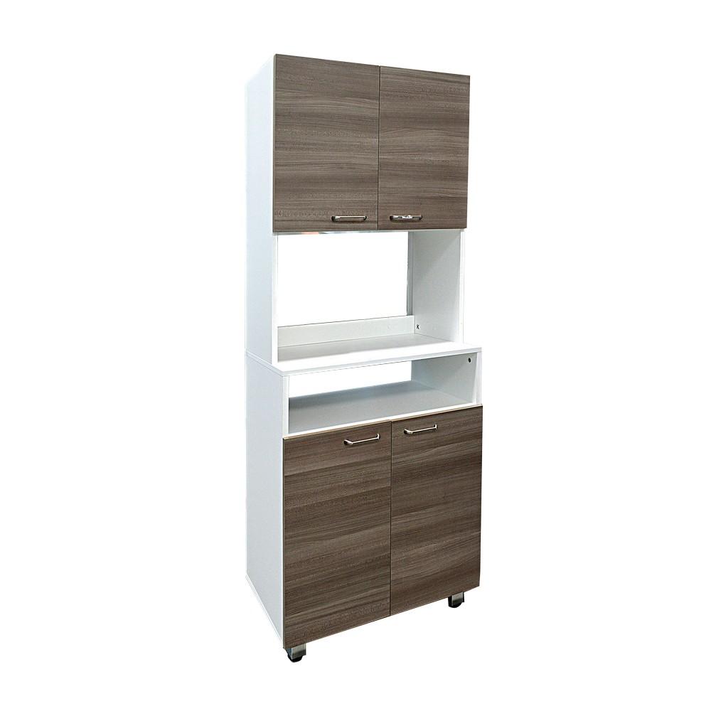 Mueble para microondas blanco olivo