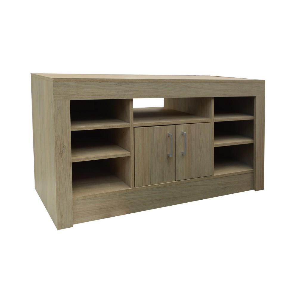 Mueble para tv habano romazino muebles para interior for Muebles pequenos para tv