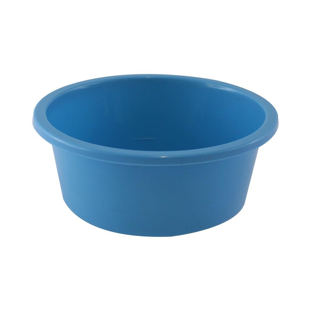 Huacal plástico color celeste, 0 0.95 lt.