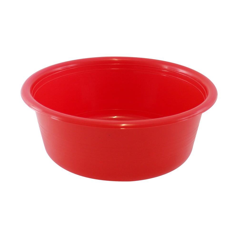 Huacal plástico color rojo, 21.5 lt.