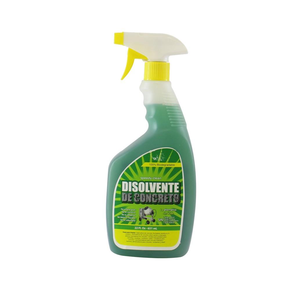 Disolvente de concreto 22 oz speedy clean